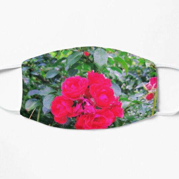 Red Rose Bunch Floral Photo Design Mask