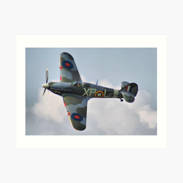 Hawker Hurricane - Dunsfold 2013 Art Print