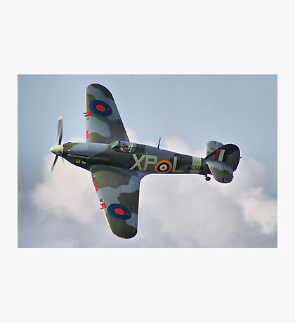 Hawker Hurricane - Dunsfold 2013 Photographic Print