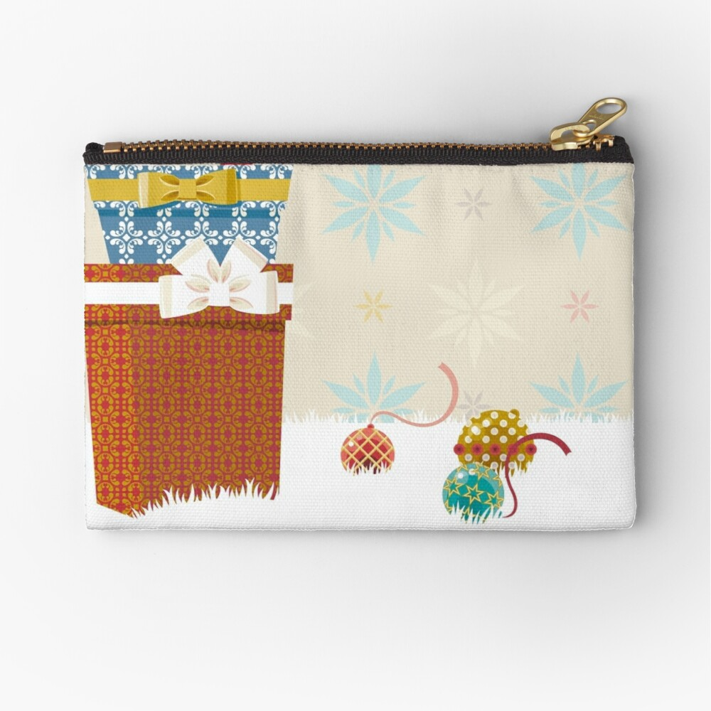 Gifts. Christmas time. Zipper Pouch