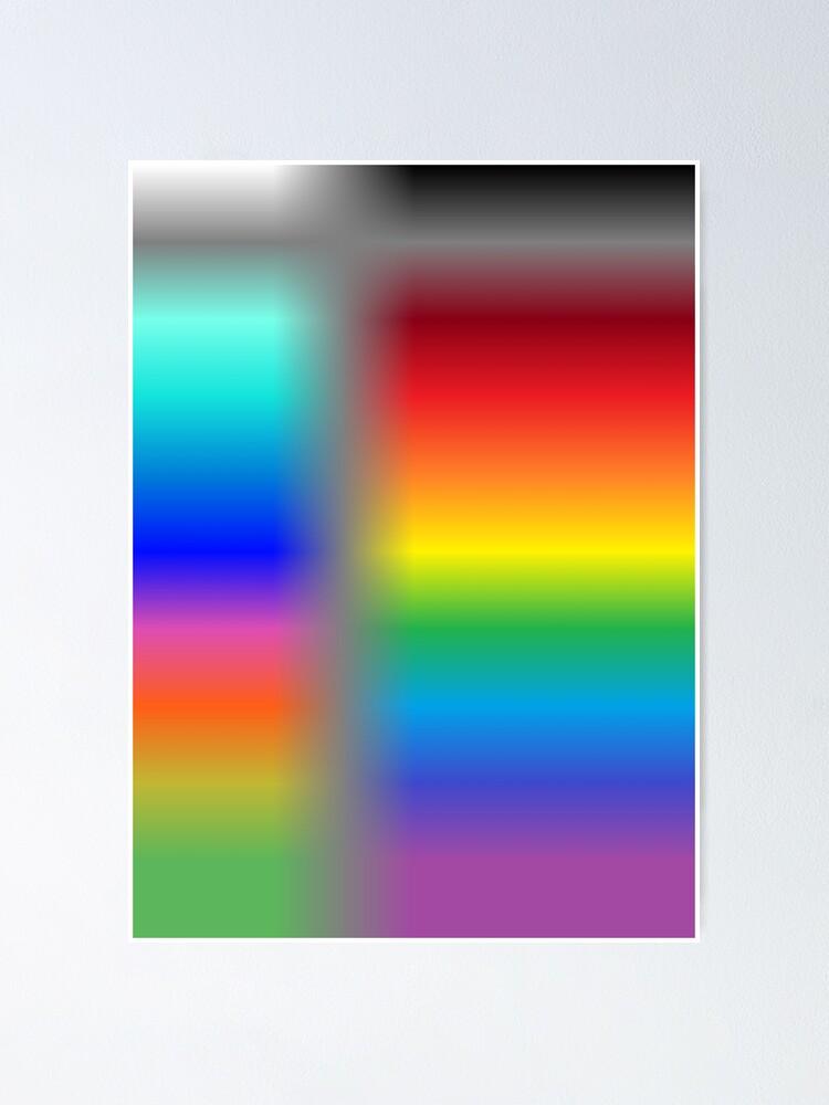 Alternate view of Colors, Cobalt blue Poster