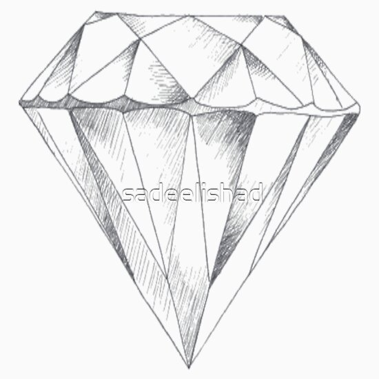 Diamonds drawing tumblr