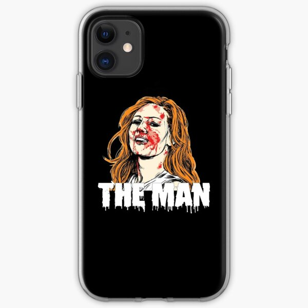 Officiel WWE Drapeau De US Becky Lynch The Man Coque D'Arrière Rigide Pour iPhone 11