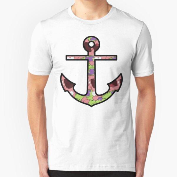 Patrick Star Anchor Slim Fit T-Shirt