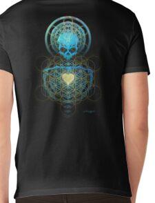 Visionary Skull  Mens V-Neck T-Shirt