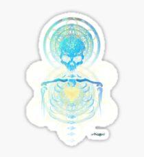 Visionary Skull  Sticker