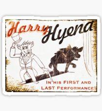Harry Hyena Sticker