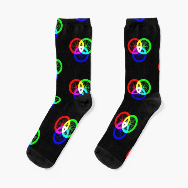 Color Wheel - RGBicycle - Colour Wheel Cycling Socks