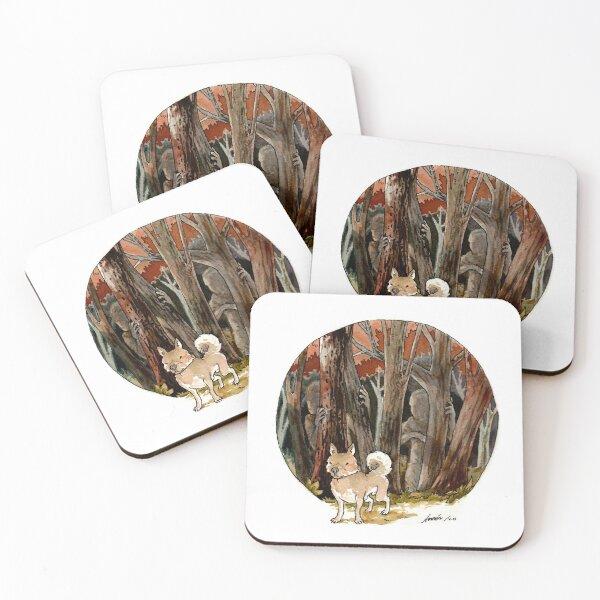 Kumataro Coasters (Set of 4)