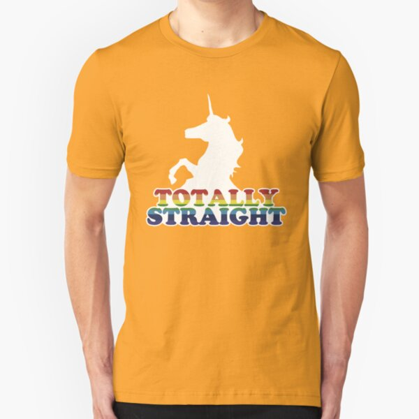 Totally Straight Slim Fit T-Shirt