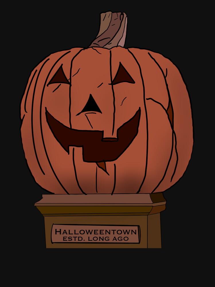 Halloweentown Pumpkin by AllyInDreamland