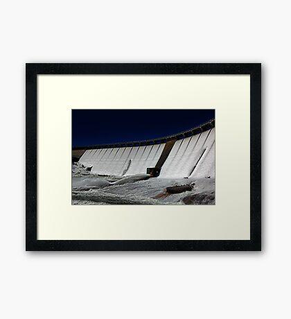 Wellington Dam - Collie Western Australia Framed Print