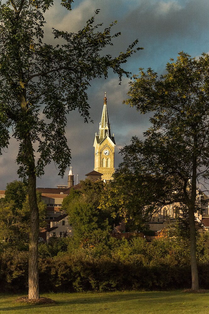 St Mary's from Upper Lake Park by James Meyer