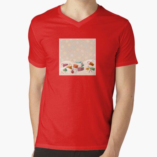 Winter Gifts V-Neck T-Shirt