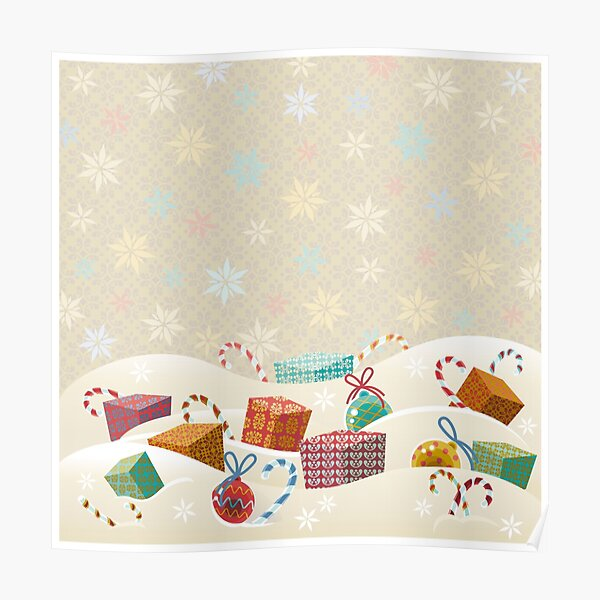 Winter Gifts Poster