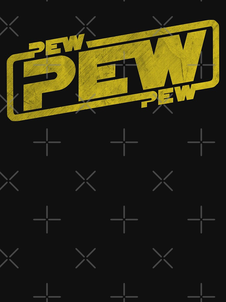 Pew Pew Pew - Blaster Movie Quote Reference by anziehend