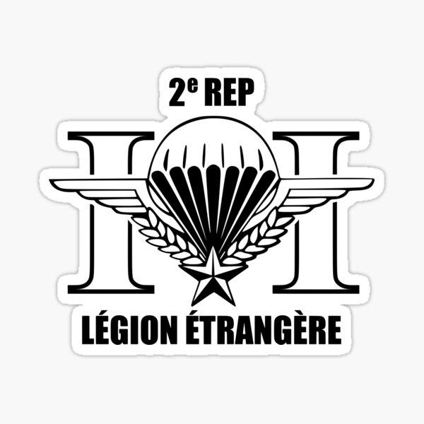 Légion Étrangère 2 REP (Parachutiste de la Légion étrangère française) Sticker