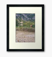 Reflecting Lake Framed Print
