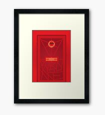 Burn With Me (doctor who) Framed Print