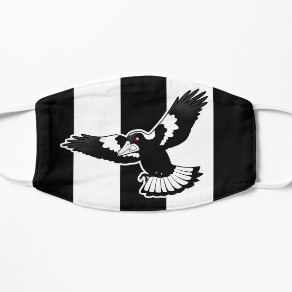 Swooping Magpie Flat Mask