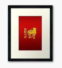 Year of The Horse 2014 Framed Print