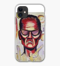 Security Guard by Suzanne Marie Leclair iPhone Case