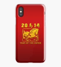 Year of The Horse 2014 iPhone Case/Skin