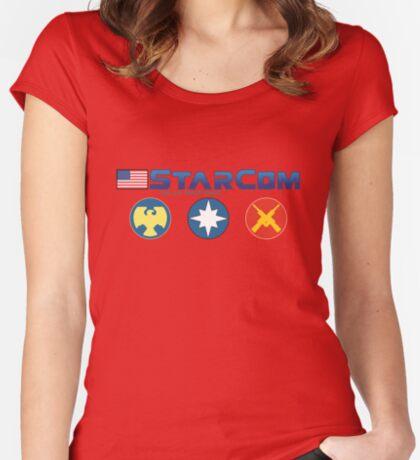 StarCom Women's Fitted Scoop T-Shirt