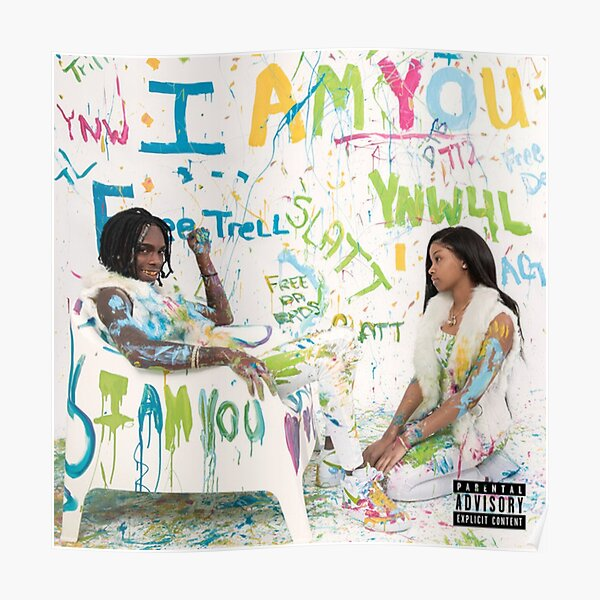 I Am You YNW MELLY  Poster
