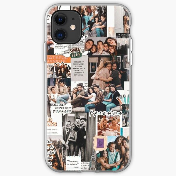 friends wallpaper iPhone Soft Case