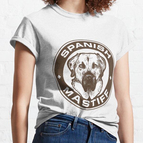 Spanish mastiff badge Classic T-Shirt