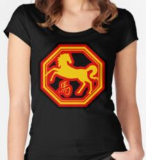 Chinese Zodiac Horse - Year of The Horse Women's Fitted Scoop T-Shirt
