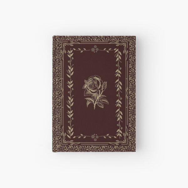 Vintage Rose Grimoire (Red, Gold) Hardcover Journal