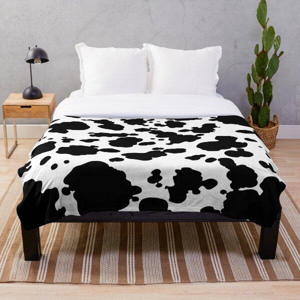 Impression de vache Plaid