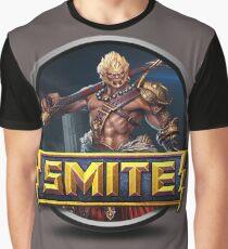 Smite Sun Wukong Logo Graphic T-Shirt