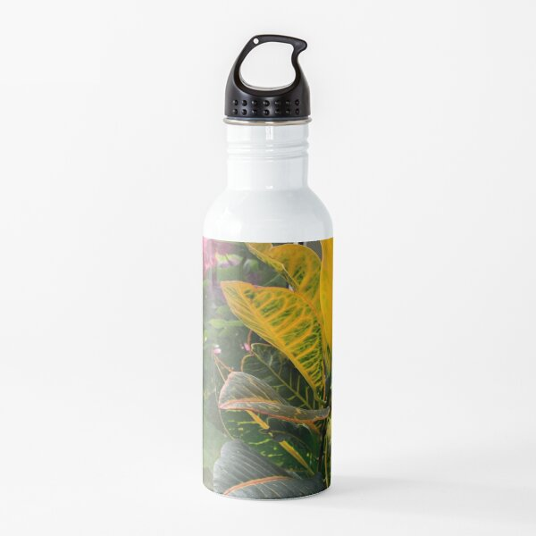 yellow plant  Water Bottle