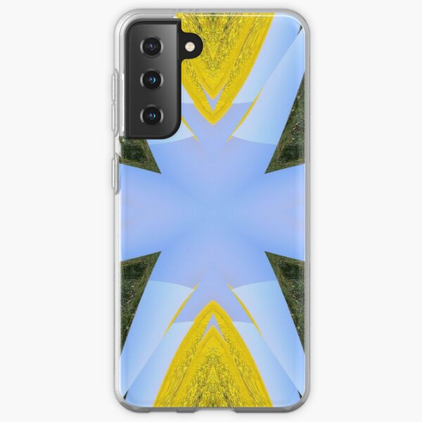Geometric sunburst Samsung Galaxy Soft Case