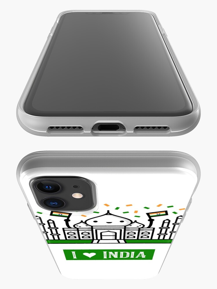 Alternate view of I Love India iPhone Case & Cover