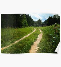 The Dirt Road Poster