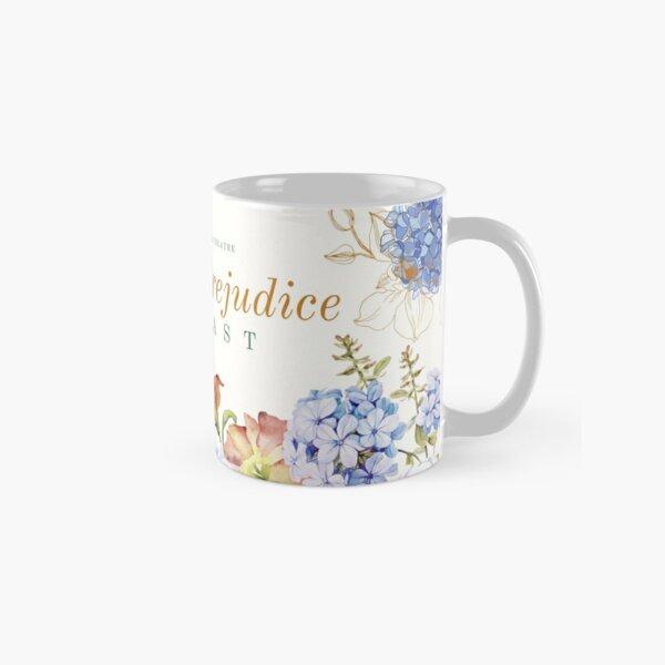 Autumn Floral Pride and Prejudice Classic Mug