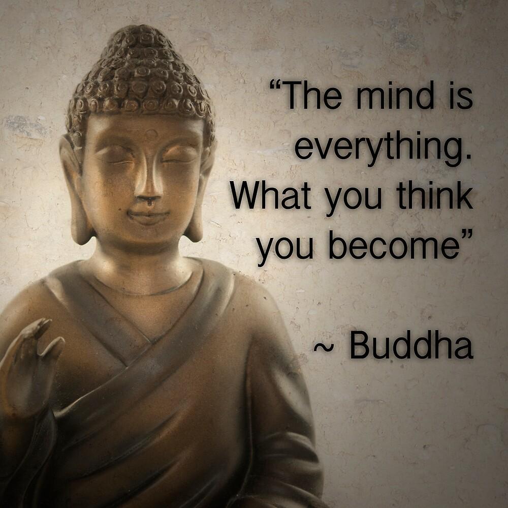 "Gautama Buddha Quotes Enlightened Buddha Quote""cptnlucky  Redbubble"