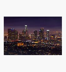 Los Angeles Skyline Photographic Print