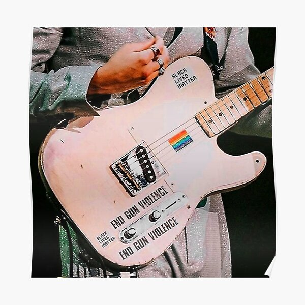 Guitare Vintage Poster