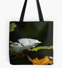 Sunlit Oak Leaves Tote Bag