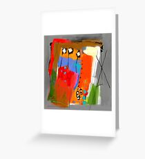 Composition 51 Greeting Card