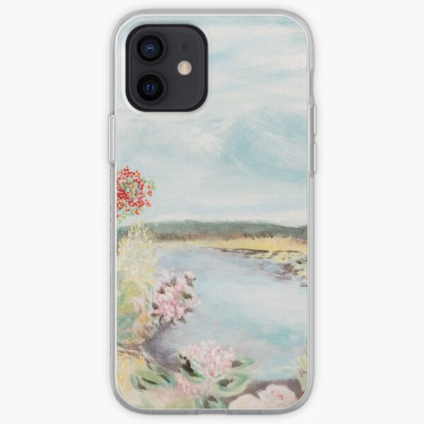 Âme tranquille Coque souple iPhone