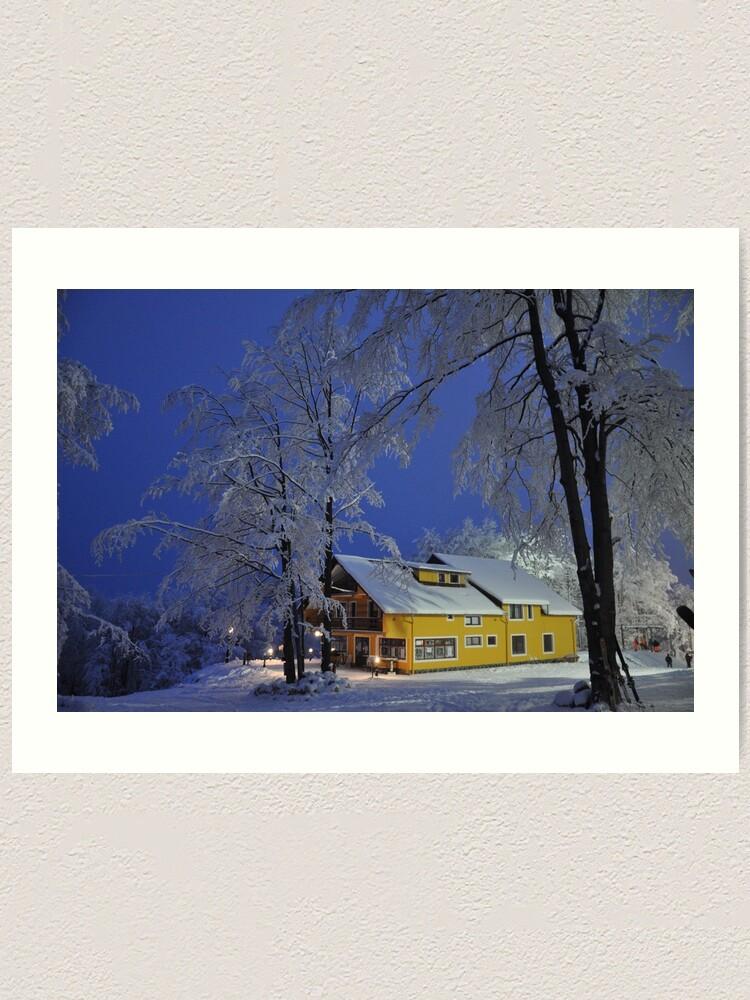 Alternate view of Winter wonderland Art Print