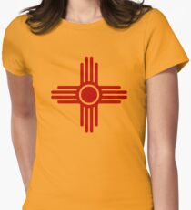 Zia Sun - Zia Pueblo - New Mexico Women's Fitted T-Shirt