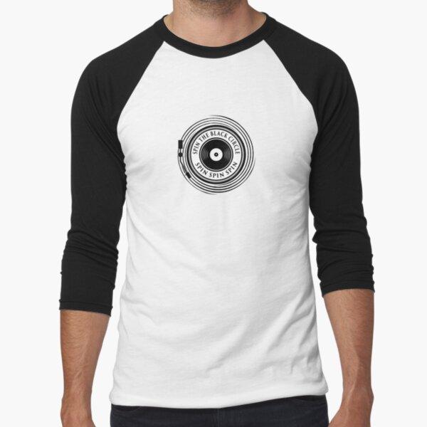 Spin the black circle Baseball ¾ Sleeve T-Shirt
