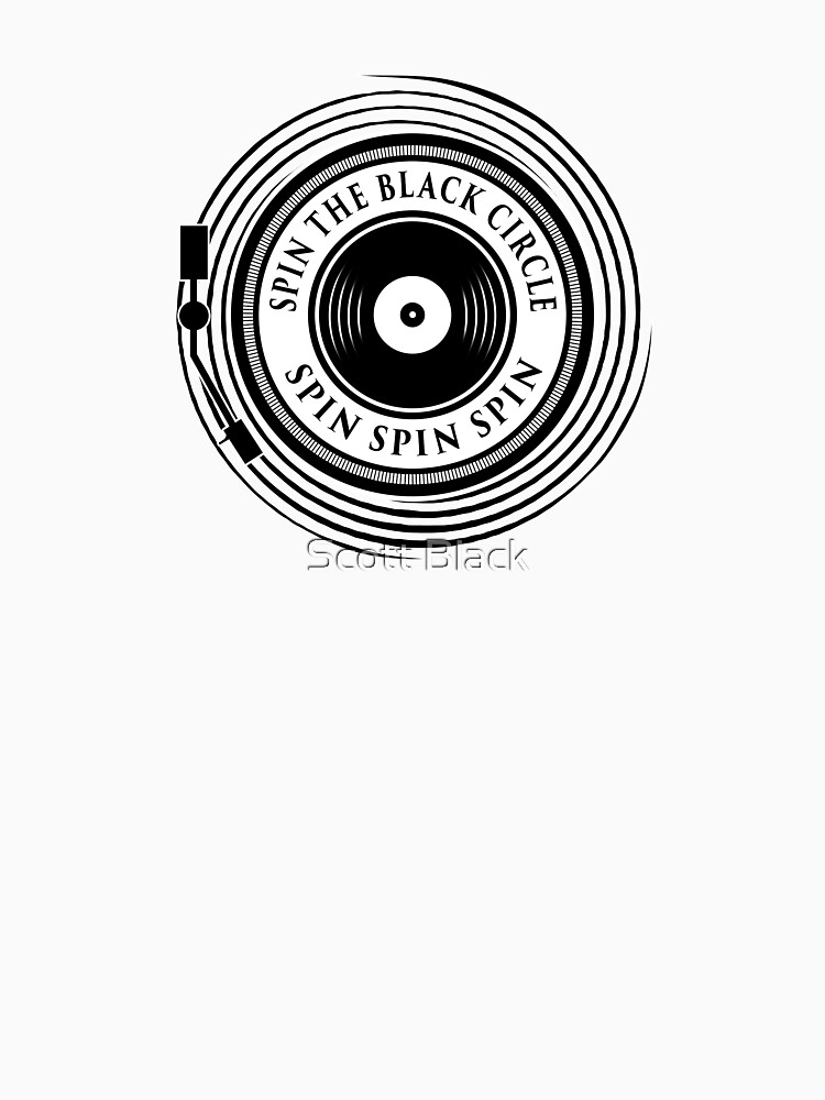 Spin the black circle | Baseball  Sleeve